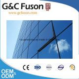 Mur rideau en verre en aluminium de panneau de mur de façade des prix de matériau de construction