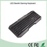 Fait dans claviers ergonomiques de câble normaux les meilleur marché de clés de la Chine des 104 (KB-1801EL)