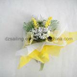 Flor artificial de la selección de la margarita para el embalaje y el ramillete (SFH1252) del regalo