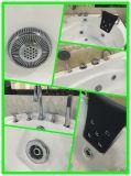 多機能のアイボリーの浴槽、陶磁器の浴槽の白