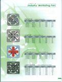 Motor de cobre industrial do ventilador de ventilação 100%
