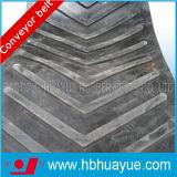 品質は特別な形パターンシェブロンによって計算されたゴム製コンベヤーベルト付けシステムHuayue中国有名な商標100-5400n/mmを保証した