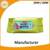 고품질 공장은 유기 아기 닦음을 만들었다