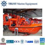 De Mariene Reddingsboot van uitstekende kwaliteit van het Type van Glasvezel Open voor Verkoop
