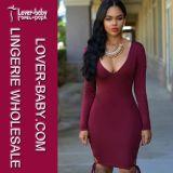 Платье 2016 одежды лета женщин сексуальное (L36081-2)