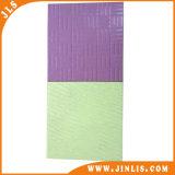 azulejo de cerámica de la pared del suelo del cuadrado puro del color del blanco gris 200X200