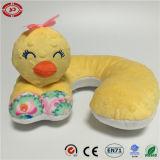 幼児安全な赤ん坊の動物の形のかわいい品質の首の枕