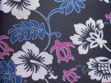 600d Oxford fiorisce il tessuto del poliestere di stampa con il PVC