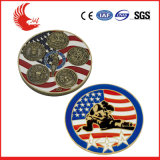 Fabrication bon marché de pièce de monnaie de pièce de monnaie d'indicateur en métal fait sur commande de la Chine