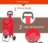 Supermarkt-Einkaufen-Laufkatze-Beutel des Polyester-600d für Förderung