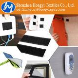 Crochet et boucle auto-adhésive en nylon noir