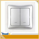Interruptor de plata Z-Wave Wall Dimmer
