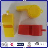 Alta calidad china con el silbido plástico promocional del precio bajo