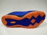 人の濃紺の屋外のバスケットボール靴のスポーツの履物