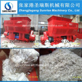 Plastic Lump Baled Film Carton를 위한 좋은 Quality Single Shaft Shredder