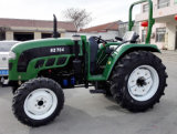 tracteur d'agriculture de 70HP 75HP4wd avec la carlingue de chauffage