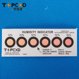 Tarjeta libre del indicador de humedad del cobalto de 6 puntos (HIC)