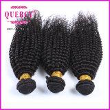 Het beste het Verkopen Weefsel van het Haar van Producten Kroezige Krullende Braziliaanse Maagdelijke