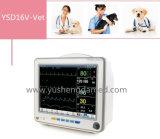 Monitor paciente veterinario del multiparámetro de la pantalla táctil de la alta calidad