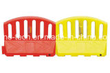Plastikbarrikade-Strangpresßling-Blasformen-Maschine