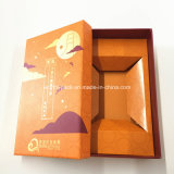 Caixa de presente lustrosa do papel dos confeitos