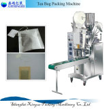 Petite machine à emballer de papier filtrable de sachet à thé avec l'amorçage et l'étiquette