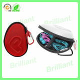 Lederne Tasche-Kopfhörer tragen Kasten (030)