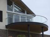 balcão moderno do vidro Tempered da espessura de 12mm