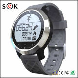 Del deporte impermeable de 2016 reloj elegante IP68 Bluetooth con la natación que utiliza del monitor del ritmo cardíaco
