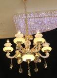 Phine europäische Innendekoration-Beleuchtung mit Zink-Legierungs-hängender Lampe