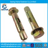 8.8 Couleur-Zinc Expansion Anchor Bolts/Expansion Bolt/Expansion Anchor Bolt de catégorie avec Hex Nut