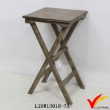 Ensemble de table basse en bois triangulaire en forme de bois