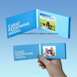 2.4inch Video Visitenkarte Video Greeting Card Video Brochure (ID2401)