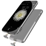 Hete Sale Two in One 2000mAh Detachable Mobile Power Bank voor iPhone 6s