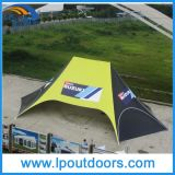 16X21m Outdoor Double 폴란드 Spider Party Star Shade