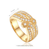 2015 Горячие Продажа 925 Мода Позолоченные кольца (Р-0235)