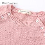 Vêtements tricotés par filles d'habillement d'enfants de Phoebee/vêtement
