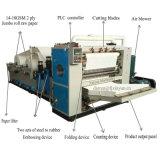 6 линий салфетка автоматической складчатости Коробк-Чертежа лицевая делая машину