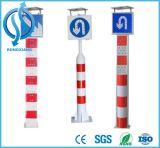 Bolardos de energía solar de la Colisión-Evitación con las lámparas del LED