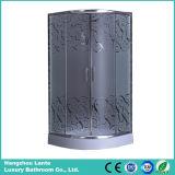 Casa de ducha simple con vidrio de fibra helada (LTS-818)
