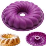 Grado Alimenticio calabaza en forma de molde de silicona moldes para hornear de silicona Cake