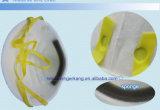 Dimensión de una variable blanca de la taza de la mascarilla sin la válvula
