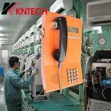 Téléphone fixé au mur Knzd-23 de téléphone de service bancaire