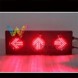 125mm personalizzato indicatore luminoso della freccia di traffico dell'indicatore luminoso di segnale delle 3 unità LED