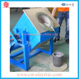 100kg Bronze、Copper、Brass Induction Melting Furnace