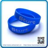 13 ans d'expériences de bracelet en caoutchouc fait sur commande de silicium