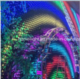 Cortina video caliente del paño LED de la visión del RGB de la Navidad 2017 para la iluminación DJ, barra, disco de la etapa de la demostración de los acontecimientos