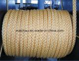 Marine 12 die Bundels pp de Lijn van de Kabel vastlegt