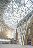 Edificio de la construcción de la bóveda de la red del espacio de estructura de acero vertido/cubierta