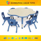 熱い販売の良質の子供のプラスチックチェアーテーブルはセットした(A-08906)